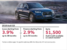 Drive the 2018 Q5 today!
