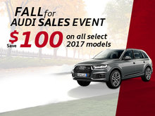 Fall For Audi Sales Event