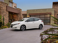 The new 2018 Nissan Leaf is here