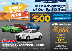 The Swap Your Ride Sales Event!