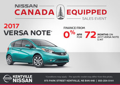 Nissan - Get the 2017 Nissan Versa Note Today!