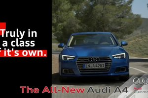 The All-New 2017 Audi A4: See it For Yourself