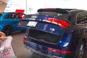 Audi Hands-Free Trunk Opening Feature