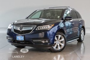 2016 Acura MDX Elite Pkg - Rear Ent, Running Boards, Cross Bars, Tow Hitch!