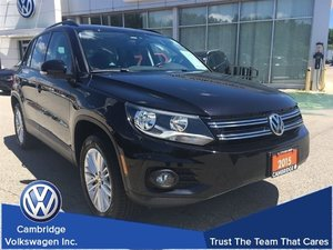 2015 Volkswagen Tiguan Special Edition With Sunroof & Navigation