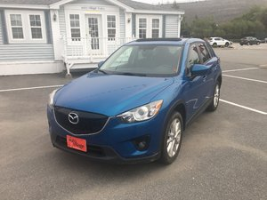 2014 Mazda CX-5 GT- $149 B/W ONE OWNER..LEATHER..ALL WHEEL DRIVE..MOONROOF..GPS/ NAV..BACKUP CAM..NEW TIRES!!