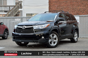 2016 Toyota Highlander Limited CUIR TOIT GPS ET +++ FULL EQUIPED!!!