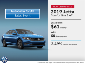 2019 Jetta Today Now on Pre-Sale!