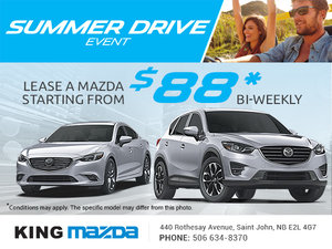It's the Summer Drive Event at King Mazda!