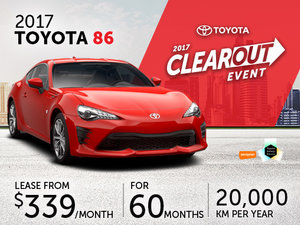 New Toyota 86 Deals in Montreal
