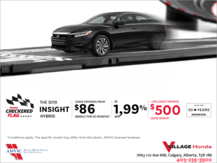 Lease the 2019 Honda Insight Today!