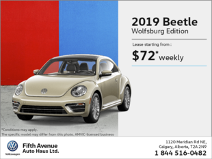 Get the 2019 Beetle!
