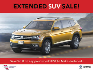 Summer Pre-Owned SUV Sale!