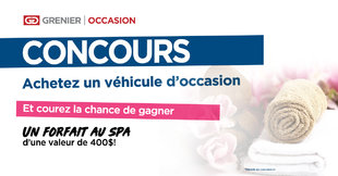 CONCOURS Forfait SPA!