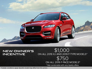 New Owners Incentive