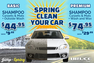 April Special: Spring Cleaning for Your Car