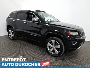 2014 Jeep Grand Cherokee Overland AWD NAVIGATION - Toit Ouvrant - A/C- Cuir