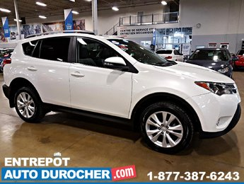 2015 Toyota RAV4 Limited AWD - NAVIGATION - TOIT OUVRANT - CUIR