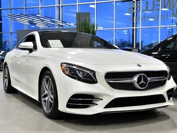 2019 Mercedes-Benz S560 4MATIC Coupe