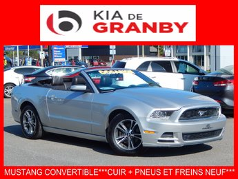Ford Mustang convertible 2014 PREMIUM***CUIR+V6***