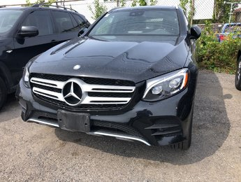 2017 Mercedes-Benz GLC300 Panoramic sunroof, sport package, AMG styling package