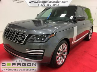 2019 Land Rover Range Rover 5.0L V8 SUPERCHARGED + AUTOBIOGRAPHY + LWB