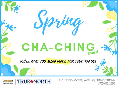 Spring CHA-CHING Event!