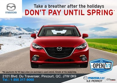 Don't Pay Until Spring