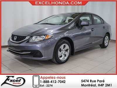 Honda Civic LX, WOW! SEULEMENT 19486 KMS! COMME NEUF! 2015