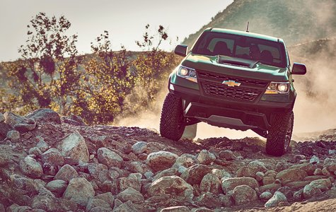 Chevrolet unveils rugged Colorado ZR2 in L.A.