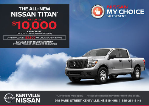 Save on the 2017 Nissan Titan Today!