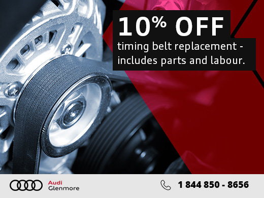 Belt Replacement Service Offer