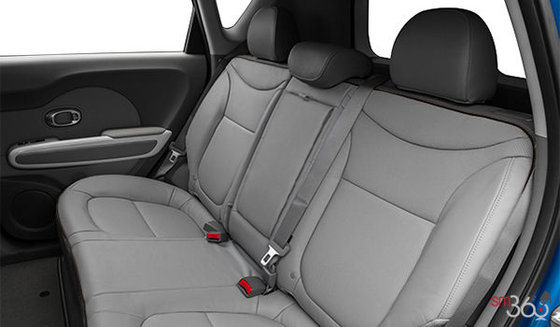 Two-tone Grey Leather with Black Piping