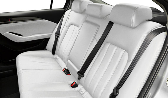 Pur White Leather