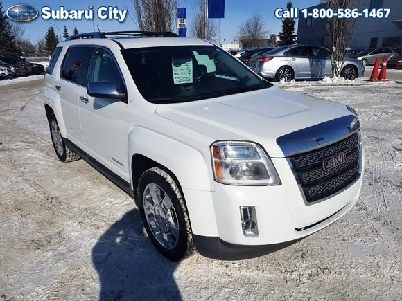 2013 GMC Terrain SLT-2,AWD,LEATHER,SUNROOF,NAVIGATION,DVD PLAYER,V-6,LOADED,WINTER RIMS AND TIRES,LOCAL TRADE!!!!