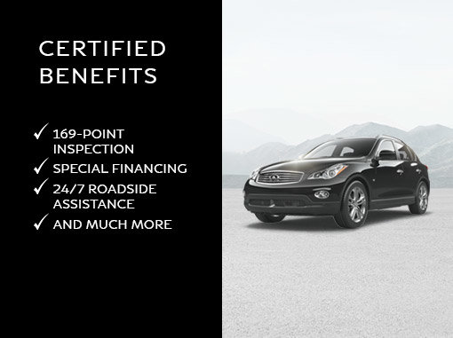Infiniti Certified Pre Owned >> Infiniti Certified Pre Owned Vehicles Spinelli Infiniti