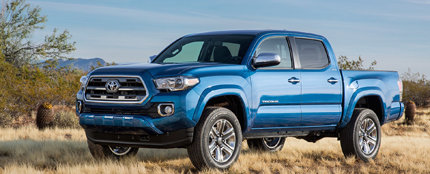 The all-new 2016 Toyota Tacoma completely redesigned