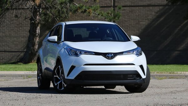 The Toyota C-HR in four trims for 2019