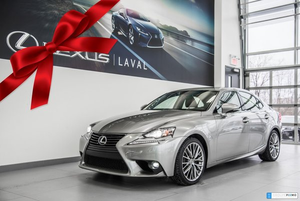 Lexus IS 250 AWD -CAMERA- CUIR-TOIT OUVRANT 2015