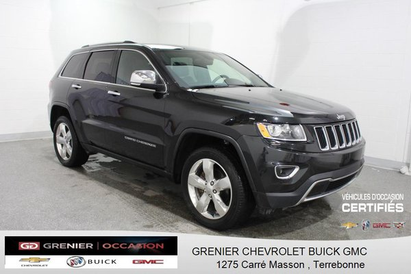 Used 2016 Jeep Grand Cherokee Limited 4x4 Cuir Toit Cam De Recul