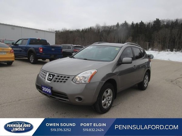 2009 Nissan Rogue SL  AS-IS SPECIAL, AWD!