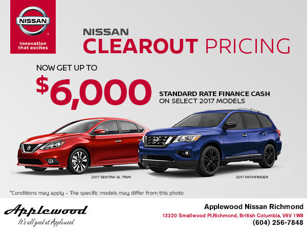 Nissan's Clearout Pricing Event