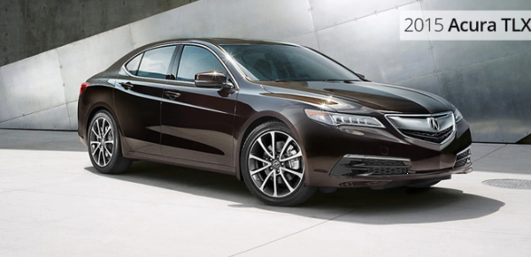 The All New 2015 Acura TLX!
