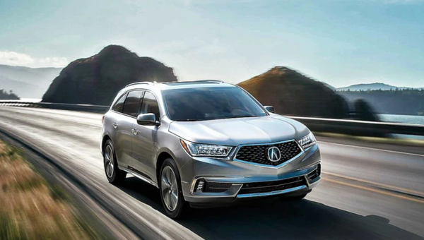 The 2017 Acura MDX vs. the Competition