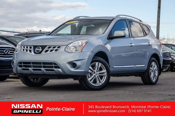 used 2012 nissan rogue sv awd for sale in montreal 170912a spinelli nissan. Black Bedroom Furniture Sets. Home Design Ideas