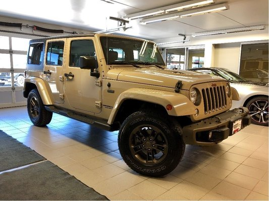 2016 Jeep Wrangler Unlimited Wrangler Unlimited 75th Anniversary