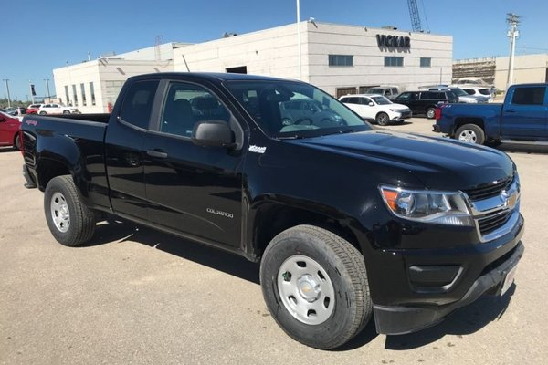 2018 Chevrolet Colorado Work Truck  -  Towing Package - $191.54 B/W