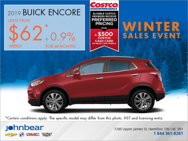 Lease the 2019 Buick Encore