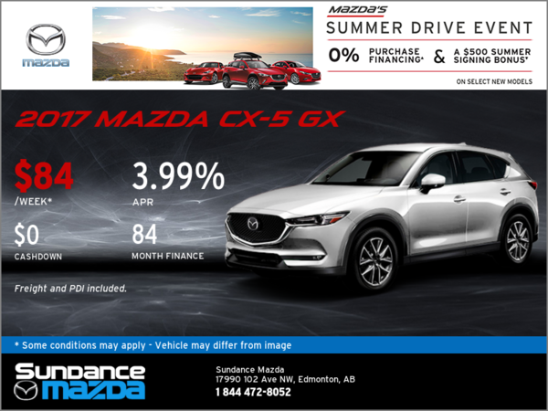 Save on the 2017 Mazda CX-5 Today!