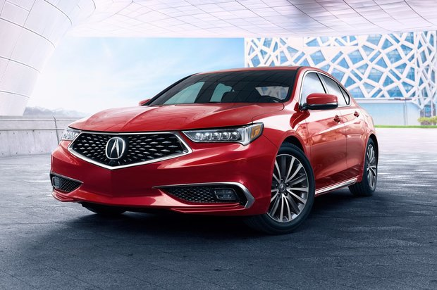 The 2018 Acura TLX by the numbers